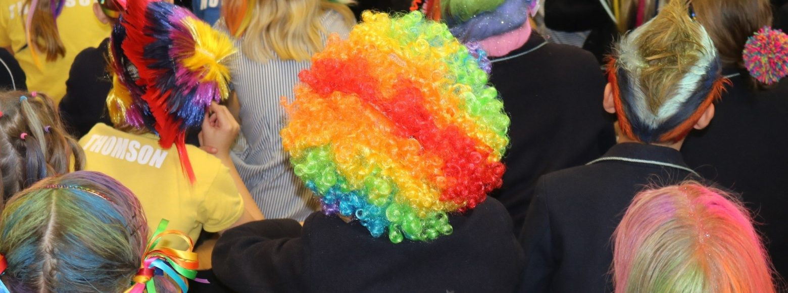Crazy Hair Day Fundraiser